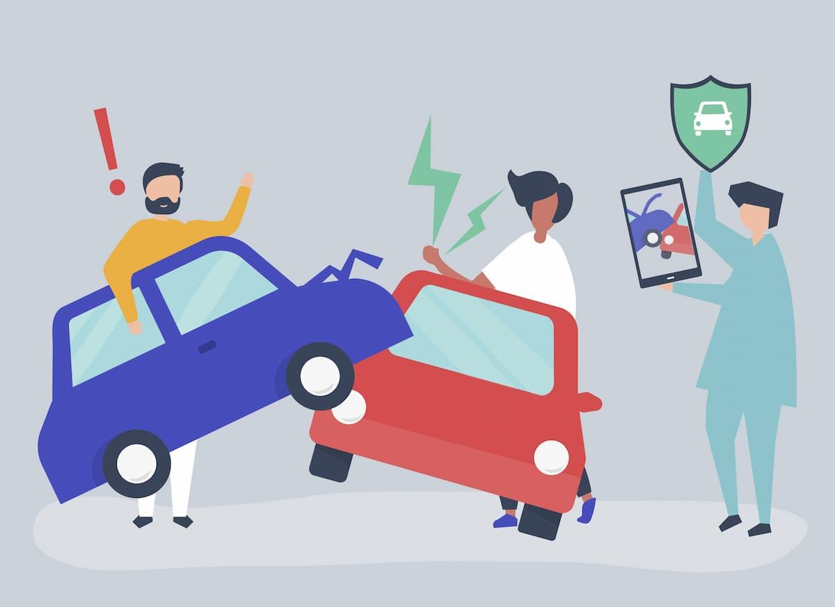 自動車事故後の争い